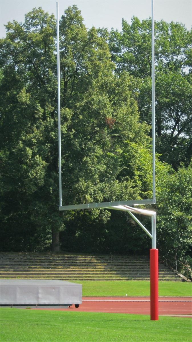 American Football Tor aus Aluminium
