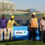 Stabhochsprungmatte King Abdullah Sports City