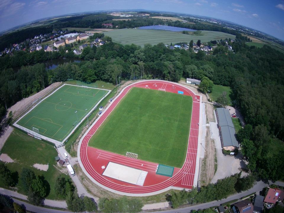 Referenz Waldstadion in Limbach Oberfrohna