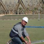 Montage Diskusring King Abdullah Sports City