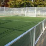 Soccer Court Frankfurter Ostpark Bande