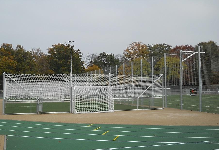 Soccer Court Frankfurter Ostpark hinten