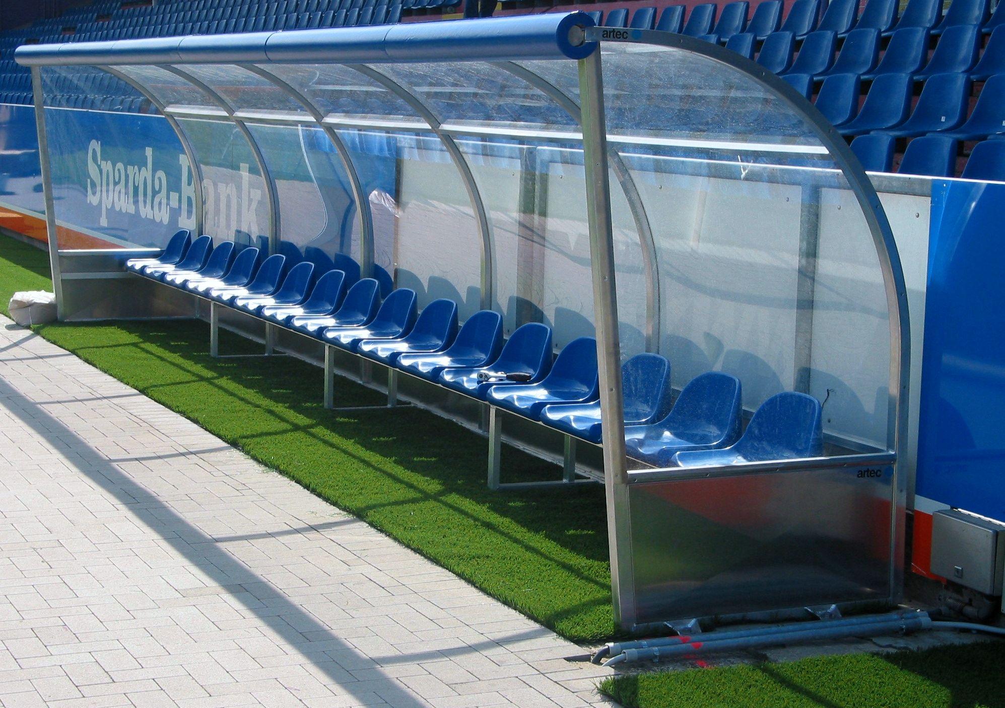 Spielerkabine Stadion