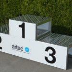 Siegerpodest von artec Sportgeräte