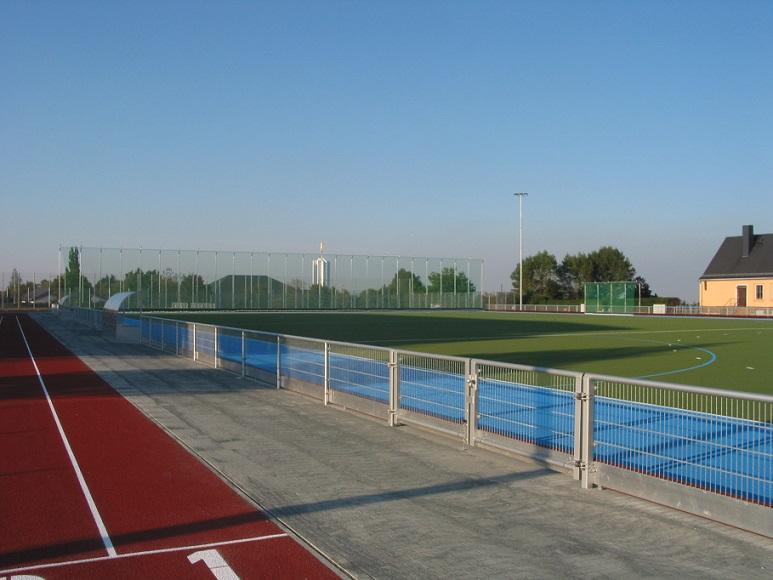 Sportanlage Freiberg mit artec Sportgeräte