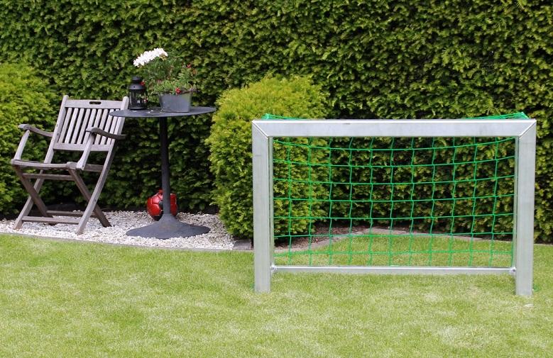 Minitor im Garten von artec Sportgeräte