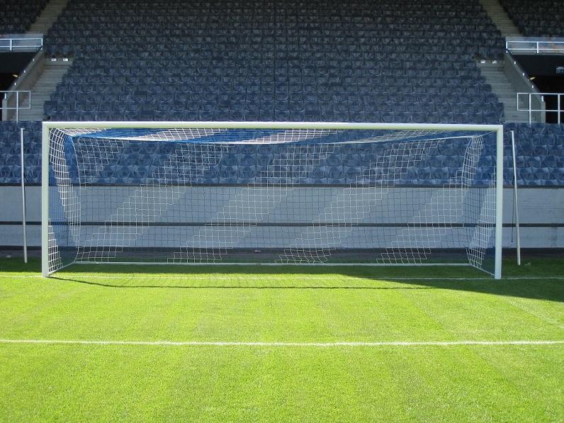 Fußballtore mit Spannstangen von artec Sportgeräte