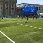 Soccer Court von artec beim Champions League Fest in Berlin