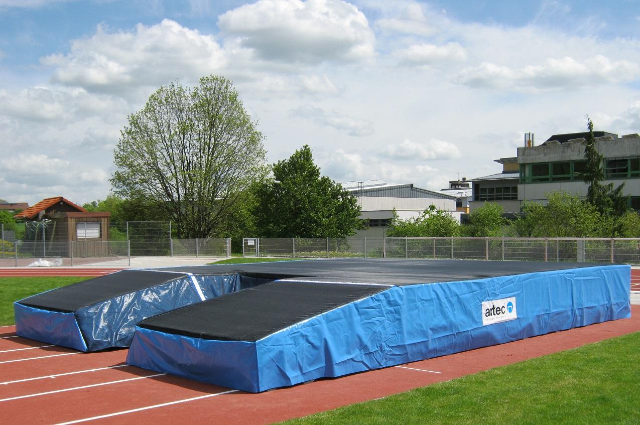 Stabhochsprungmatten mit IAAF Zertifikat