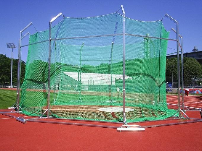discus cage mobile