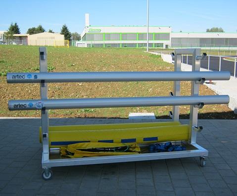 Volleyball - Transportwagen von artec Sportgeräte