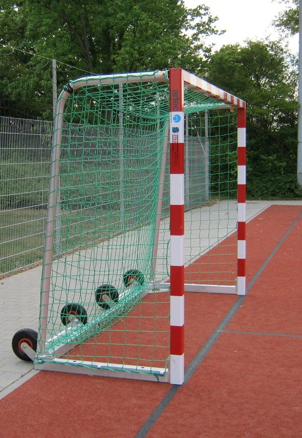 Handballtor mit Kippsicherung von artec Sportgeräte