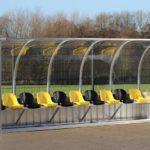 Dynamo Dresden Spielerkabine von artec Sportgeräte
