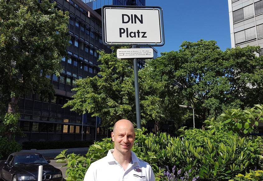 DIN-Sitzung mit Ingo Borgmann