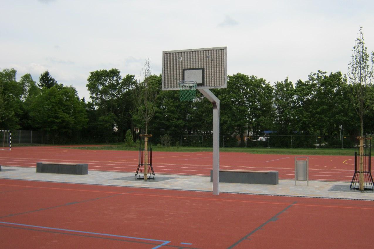 Basketball-Anlagen Vandalo von artec Sportgeräte