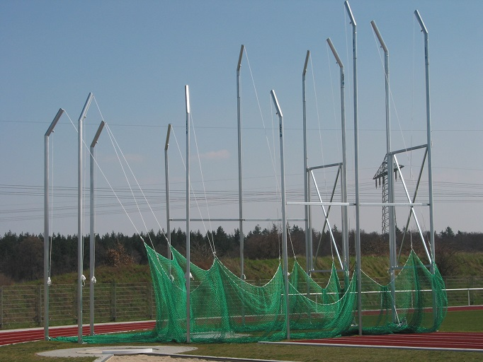 Hammerwurf - Schutzgitter von artec Sportgeräte
