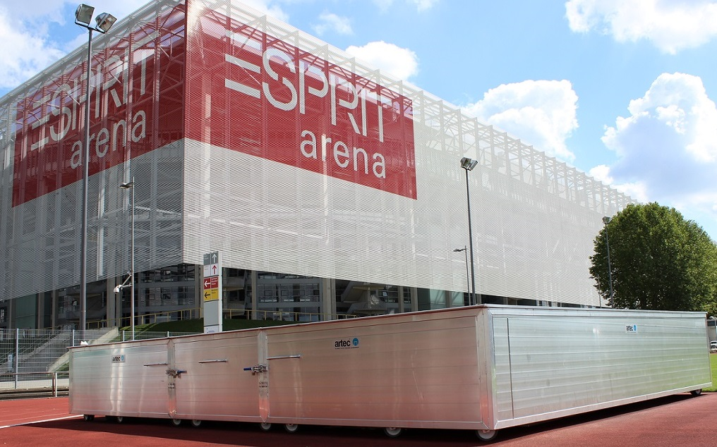 Sportgeräte kaufen bei artec Sportgeräte - Stabhochsprungabdeckung