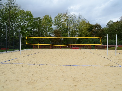 Volleyball - Anlage von artec Sportgeräte