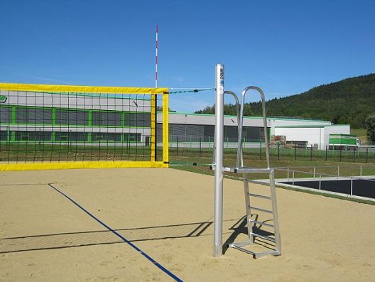 Volleyball - Anlage für Wettkampf von artec Sportgeräte