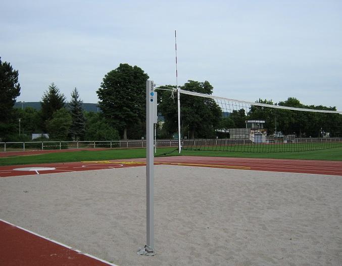 Beach - Volleyball - Anlage für Beach von artec Sportgeräte