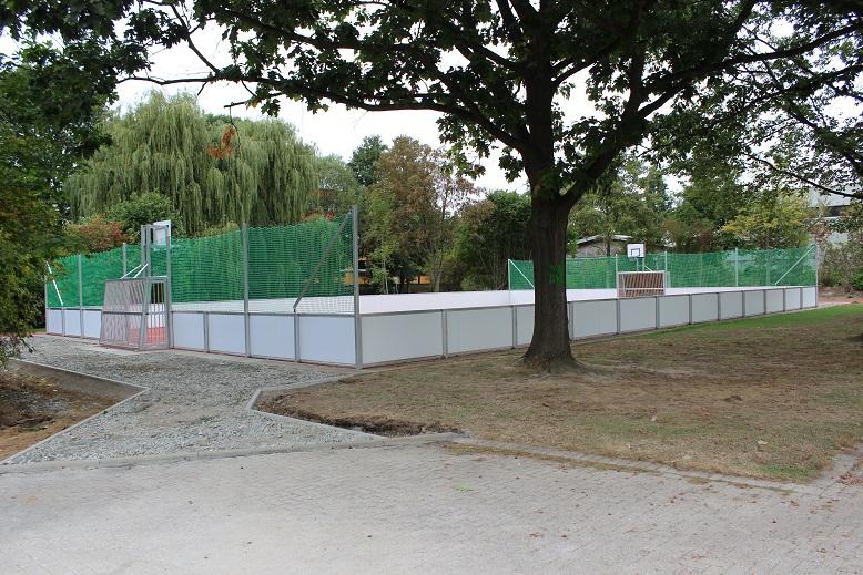 Soccercourt artec bei IGS Melle