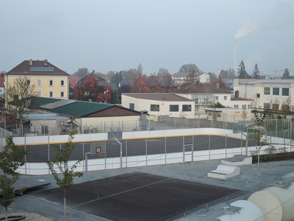Soccer Courts in Plattling