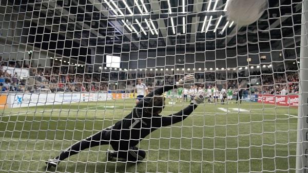 Budenzauber 2016 - Elfmeter auf Fußballtor von artec Sportgeräte