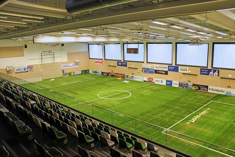 Mobiler Soccer Court von artec beim Addi Vetter Cup