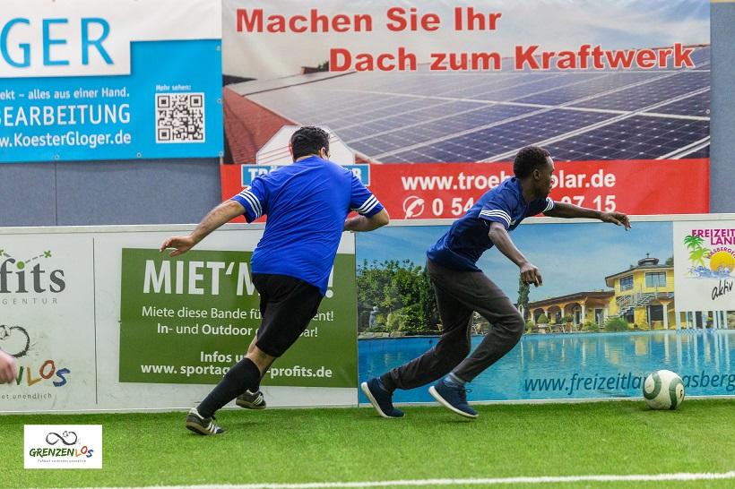 grenzenLOS - Turnier mit artec Soccer Court Bande