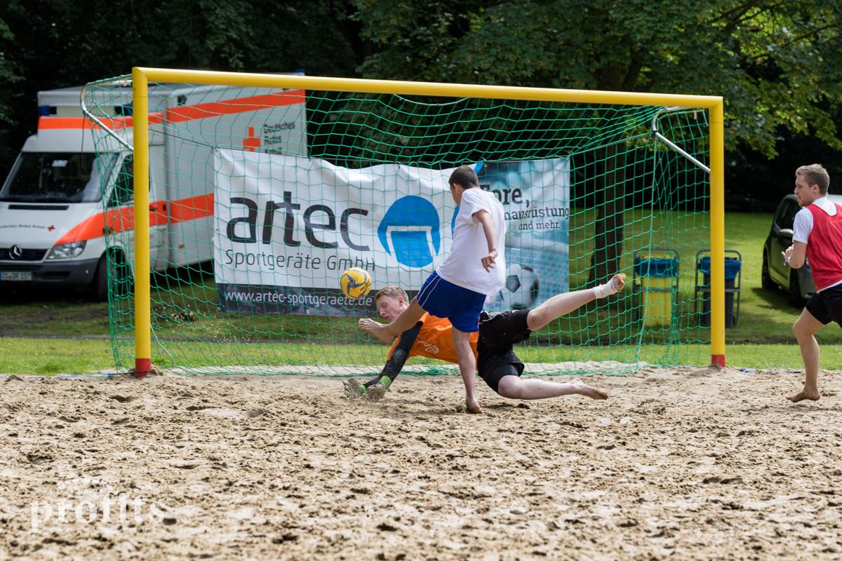 Beach Soccer Cup mit artec Sportgeräte