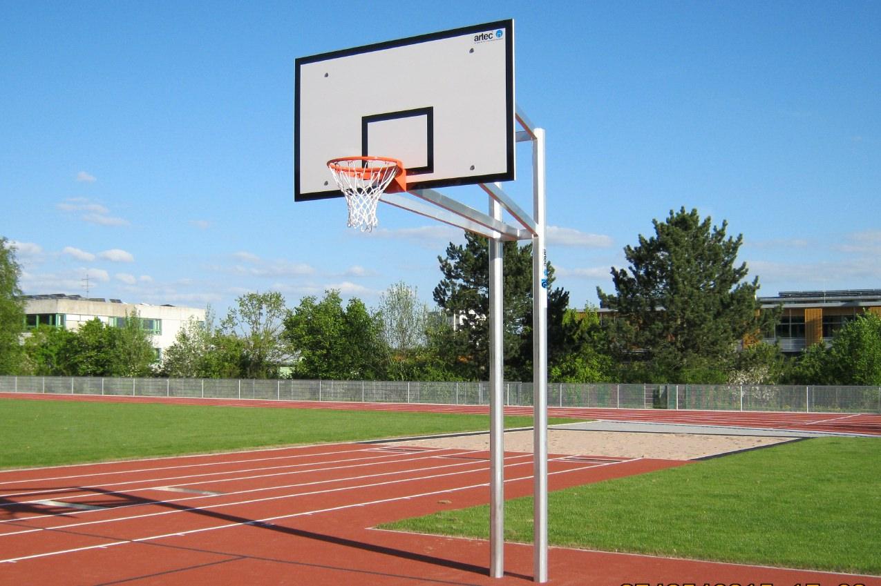 Basketball-Anlagen von artec Sportgeräte