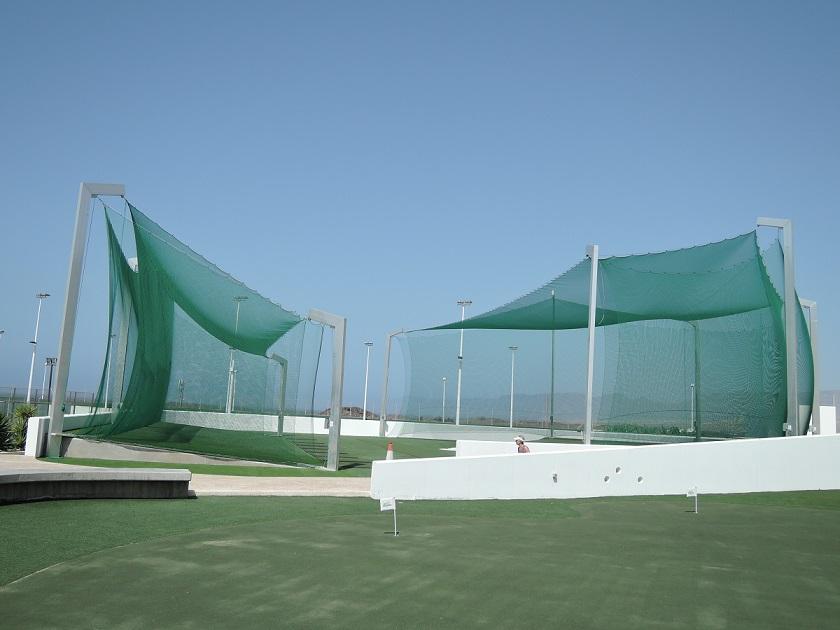 Ballfanganlage von artec im Club La Santa Lanzarote