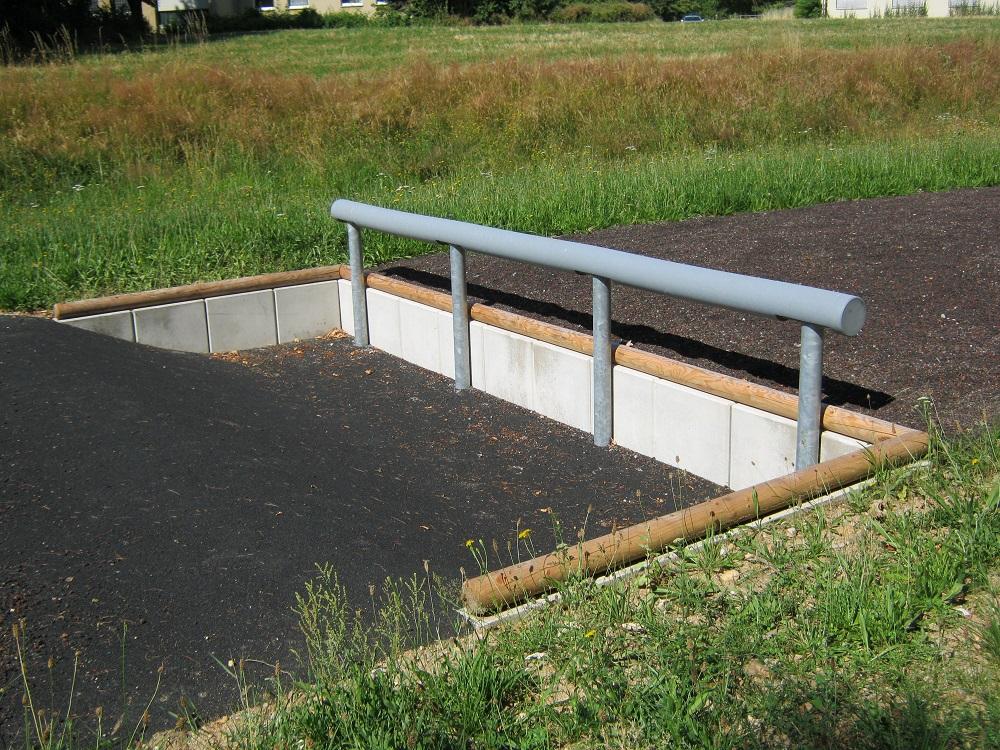 Hindernisbahn Bundeswehr - Balkengraben