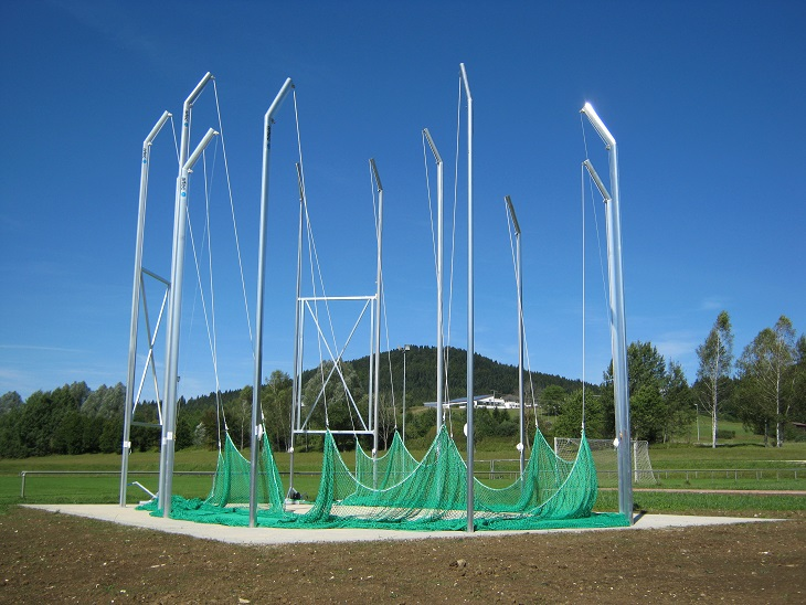 hammer cages discus cages iaaf