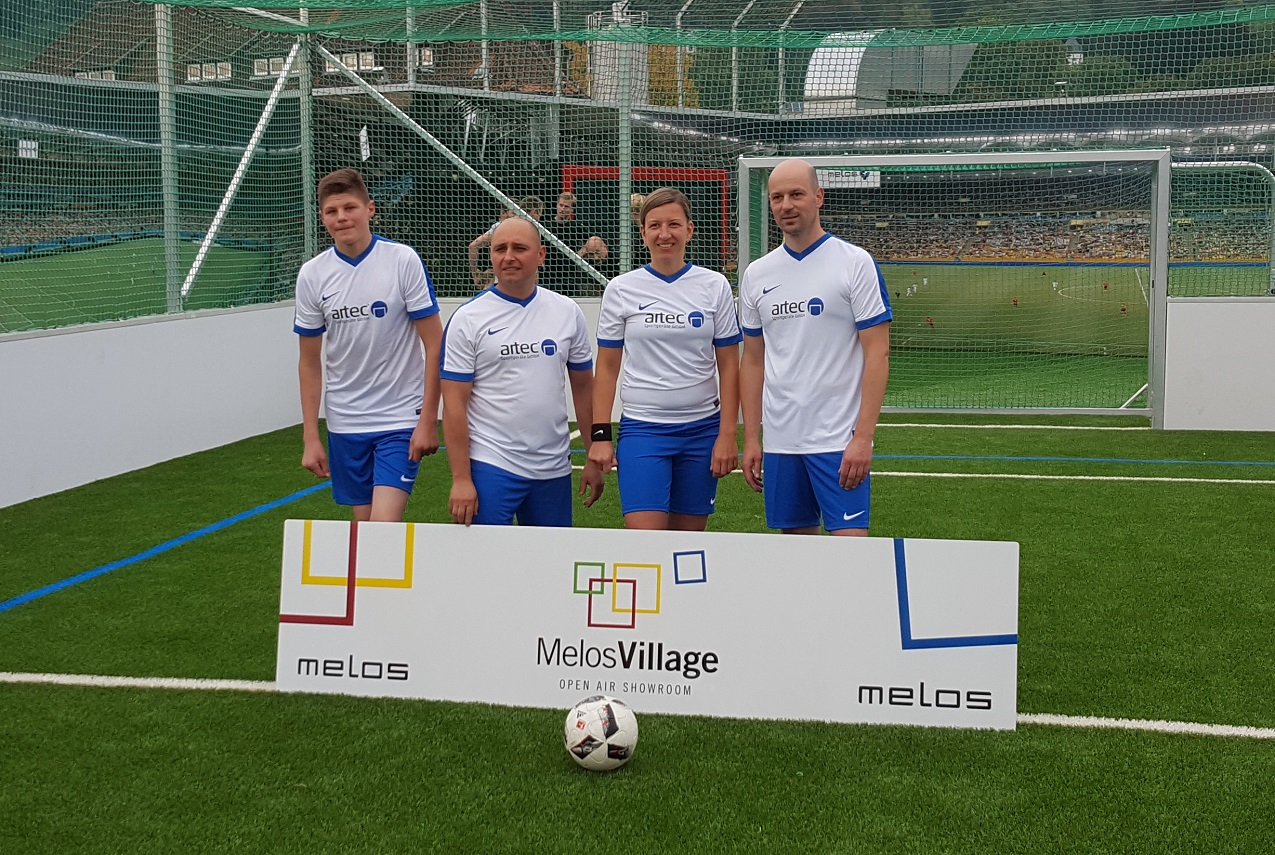 melos village mit artec Soccer Court