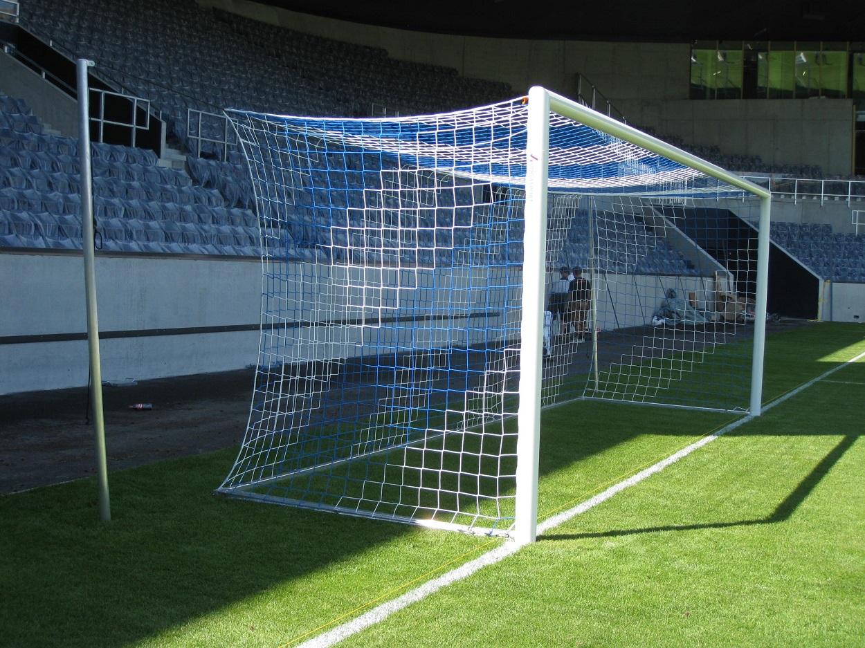 soccer goal stadium