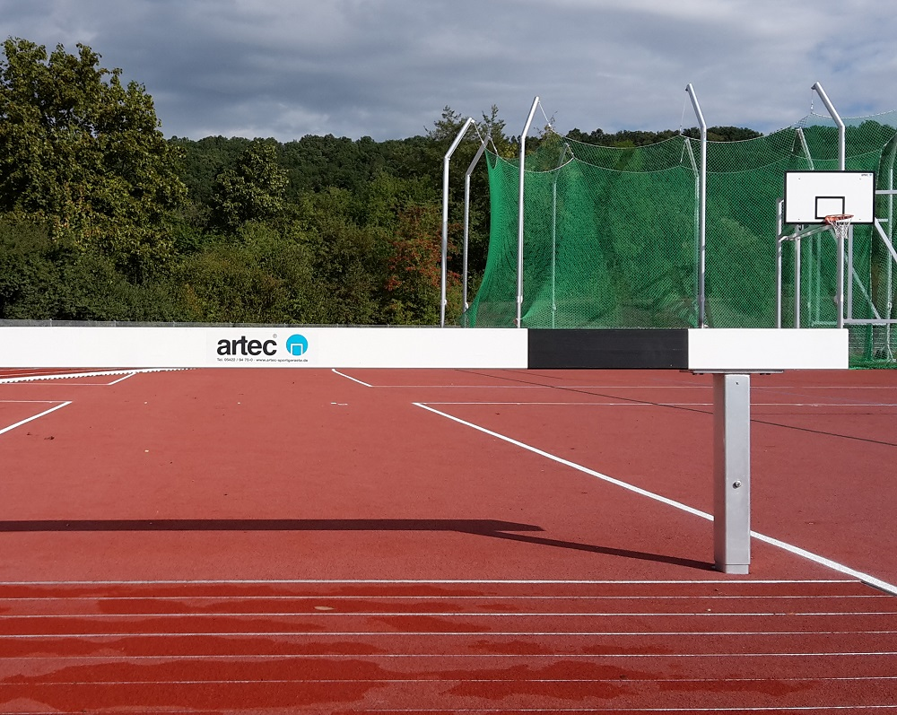 Athletics equipment for european championships