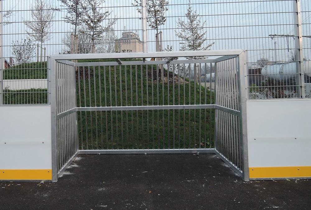 Bolztor im Soccer Court Plattling