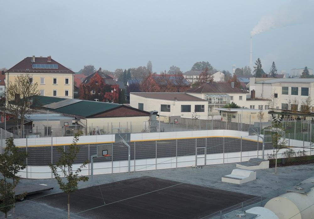 Soccer Court Plattling von artec Sportgeräte