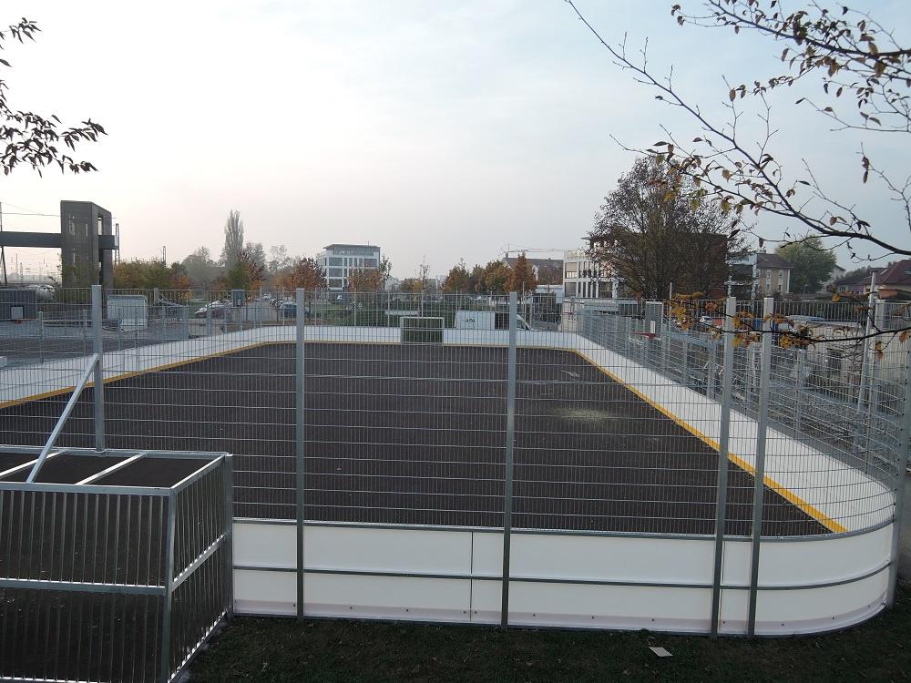 Soccer Court in Plattling von artec Sportgeräte