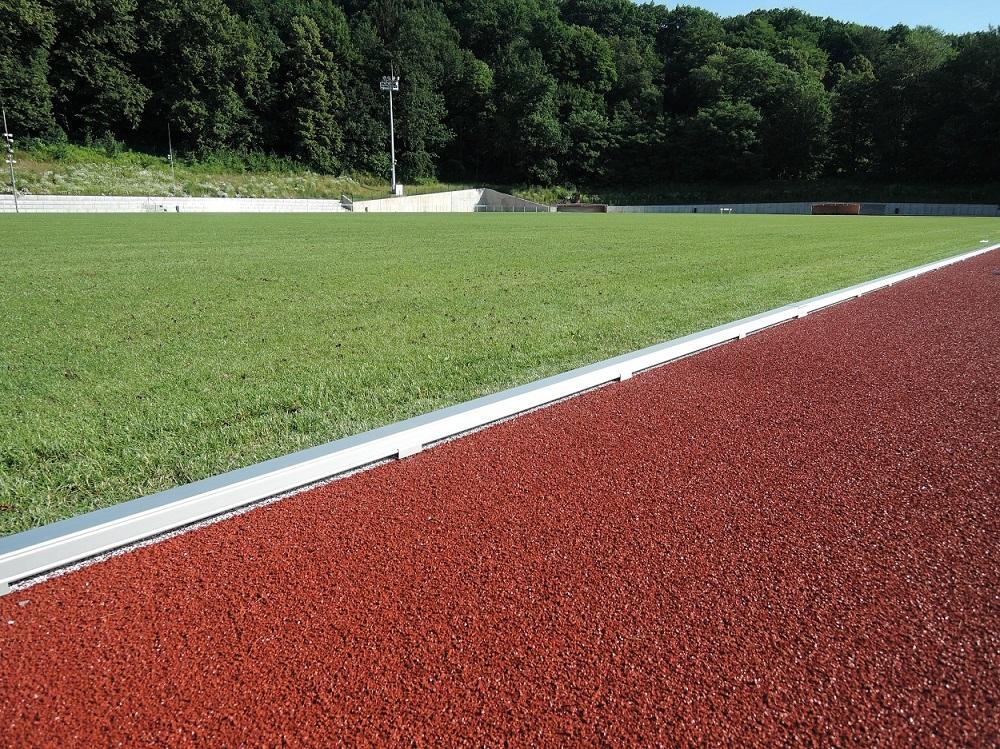 IAAF Leichtathletik Ausstattung im Stadion der Freundschaft