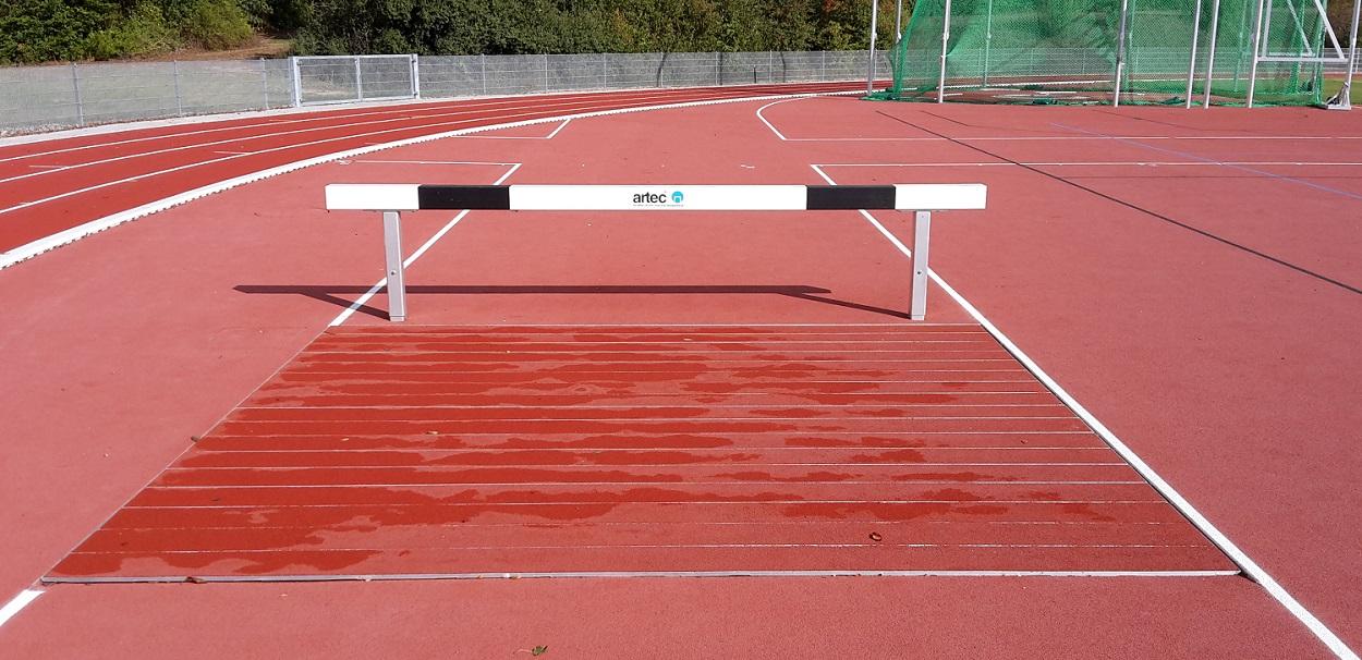 IAAF leichtathletik Ausstattung Wassergraben