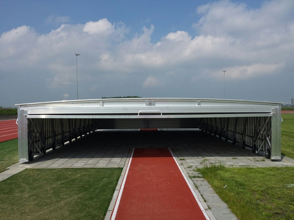 safety cover for pole vault and high jump