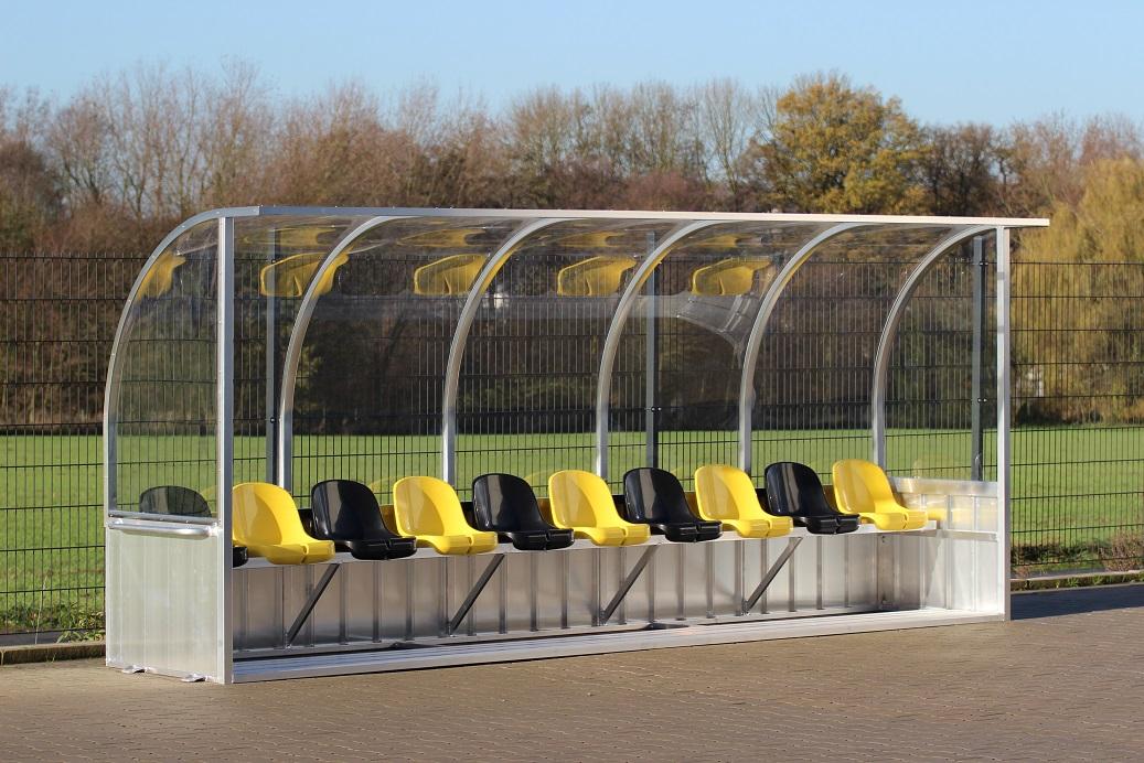 Dynamo Dresden team shelter