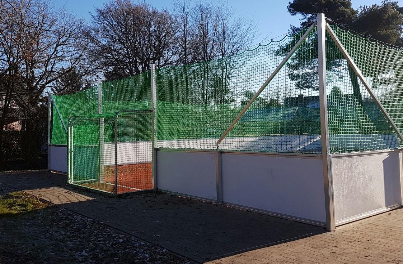 Soccer Feld von artec in Geeste installiert