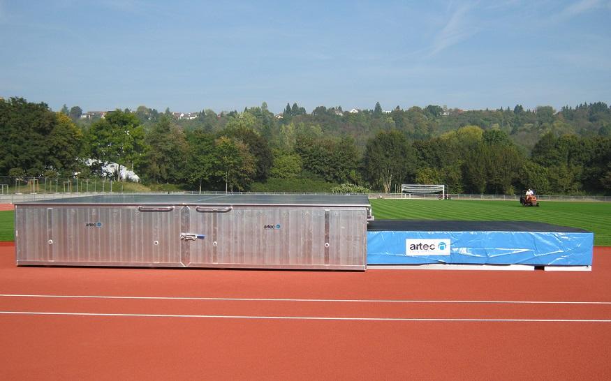 high jump and pole vault landing areas IAAF