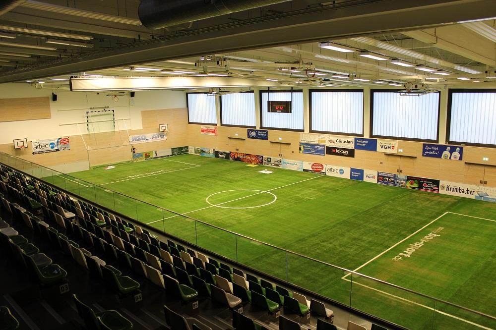 Mobile soccer court aluminium manufacturer