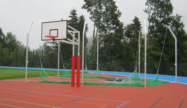 basketball post basket