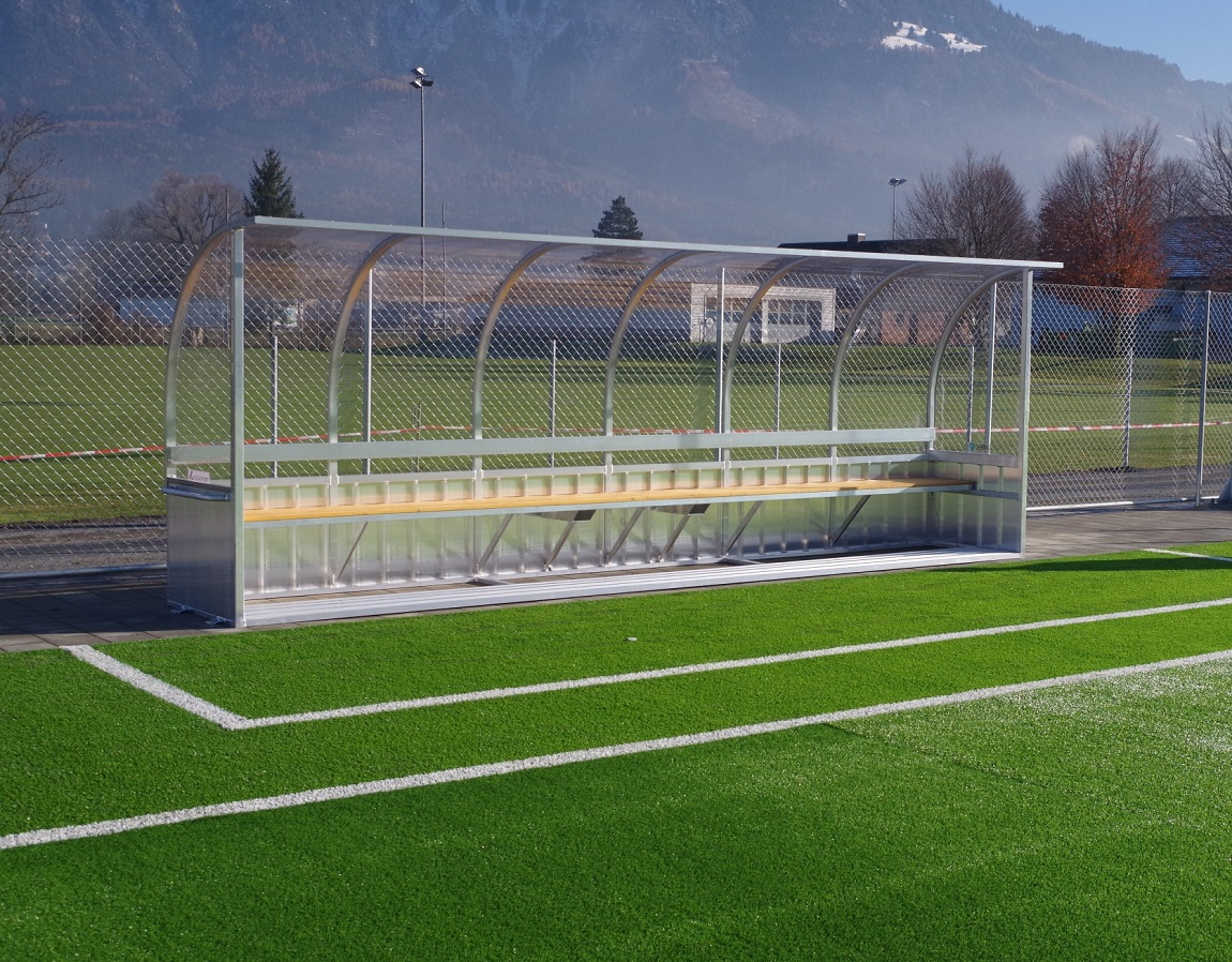 team shelters and soccer goals Switzerland