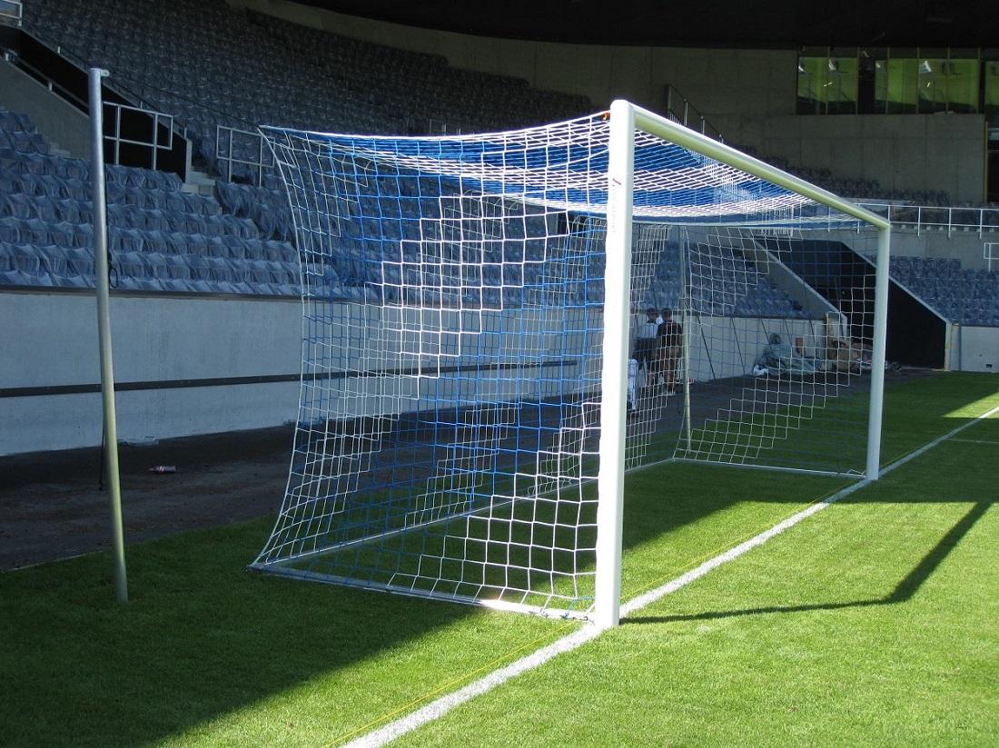 professional soccer goal stadium
